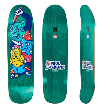 Polar Skate Co Board Paul Grund Meltdown P9